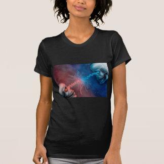 Estado de crânios da origem camiseta