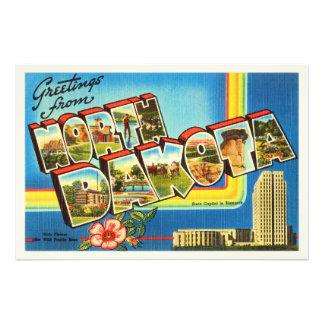 Estado de lembrança das viagens vintage do ND de Impressão De Foto