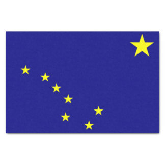 Estado de lenço de papel do presente de Alaska