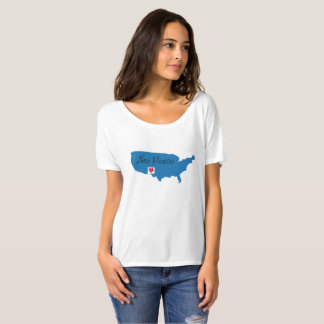 Estado de origem de New mexico em América Camiseta
