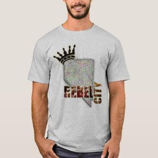 Estado de prata - Nevada - Las Vegas Camiseta