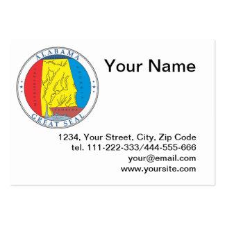 Estado de selo de Alabama Cartão De Visita
