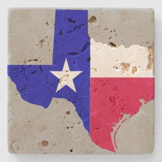Estado do Texas Porta Copos De Pedra