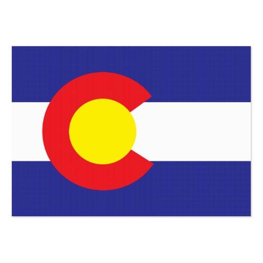 Estado Flag.png de Colorado Modelos Cartoes De Visita