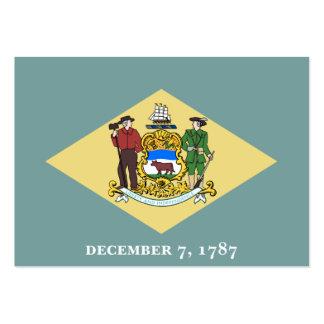 Estado Flag.png de Delaware Cartao De Visita