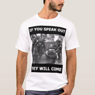 Estado policial camiseta