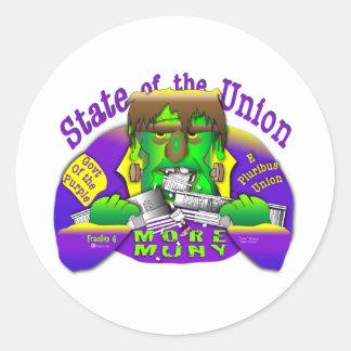 Estados da União de Frank O Adesivo
