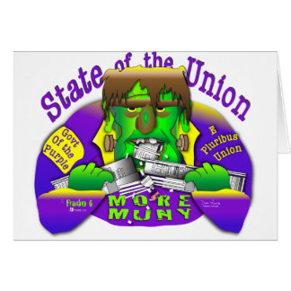 Estados da União de Frank O Cartão Comemorativo