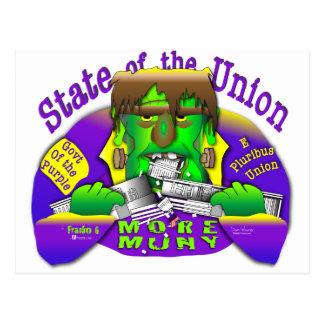 Estados da União de Frank O Cartão Postal