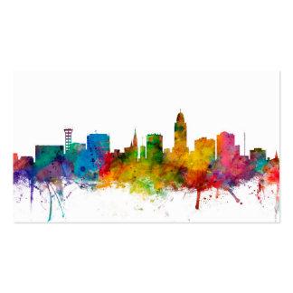 """""""Estados Unidos"""", EUA, da """"skyline cidade"""", Cartão De Visita"""