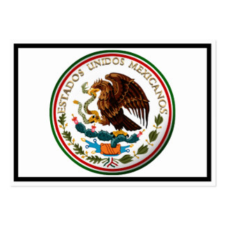 Estados Unidos Mexicanos (Eagle da bandeira Cartão De Visita Grande