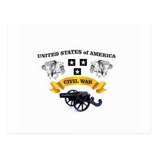Estados Unidos voaram o cavalo cw Cartão Postal