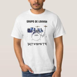 Estampa Baterista Tshirt