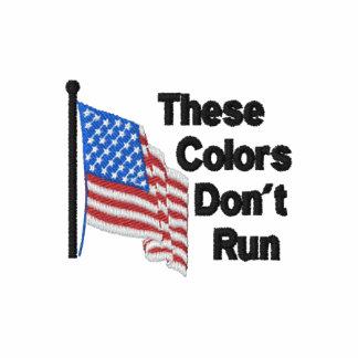 Estas cores não funcionam o americano patriótico
