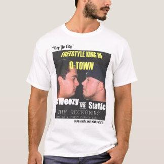 Estática contra G.Weezy Camisetas