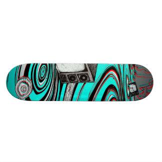 estático shape de skate 21,6cm