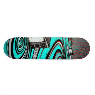 estático shape de skate 18,7cm