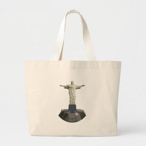 Estátua: Cristo o redentor: modelo 3D: Bolsas Para Compras
