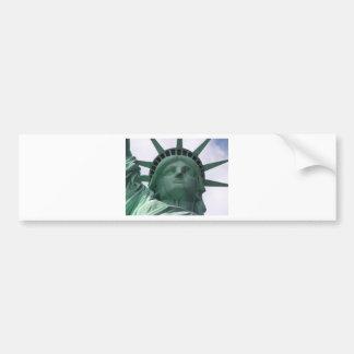 Estátua da liberdade adesivo para carro