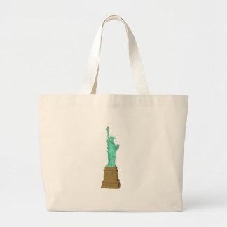 Estátua da liberdade: modelo 3D: Bolsa De Lona