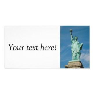 Estátua da liberdade, New York Cartão Com Foto