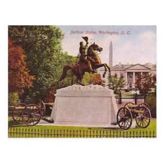 Estátua de Jackson Cartão Postal
