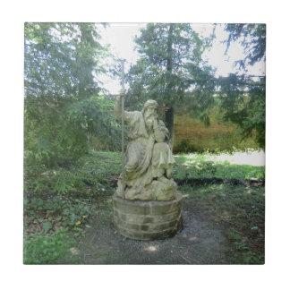 Estátua de um Druid de Galês em Erddig Salão