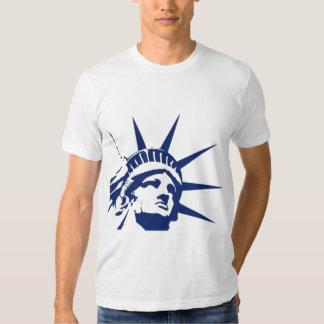 Estátua do libert� camisetas