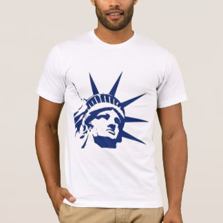 Estátua do libert� camisetas
