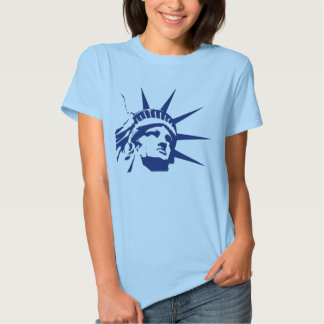 Estátua do libert� t-shirts