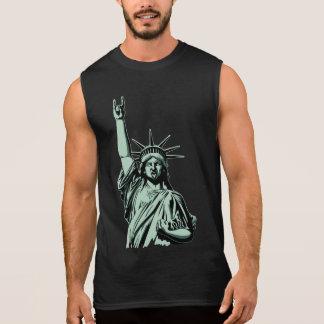 Estátua do metal camiseta sem manga