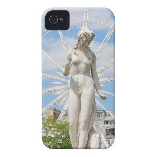 Estátua que descreve a mulher em Paris Capa Para iPhone 4 Case-Mate