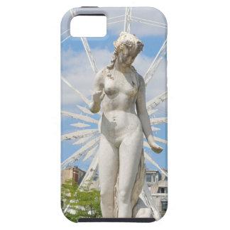 Estátua que descreve a mulher em Paris Capa Para iPhone 5