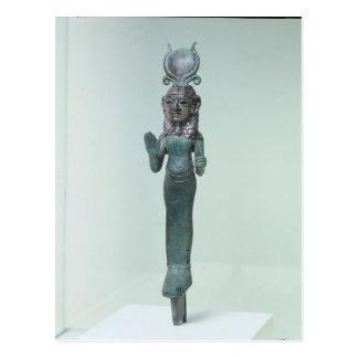 Estatueta de uma deusa do Phoenician Cartão Postal