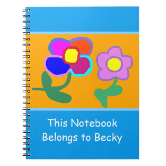 """""""Este caderno pertence caderno de Becky"""""""