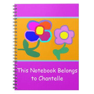 """""""Este caderno pertence caderno de Chantelle"""""""