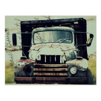 Este caminhão velho cartão postal