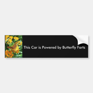 Este carro é psto pela borboleta Farts Adesivos