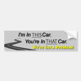 Este carro, esse carro adesivos