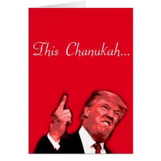 Este Chanukah está indo ser enorme, cartão da