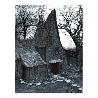 Este é meu cartão gótico da arte do lugar feliz