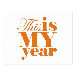 Este é meu cartão inspirador do ano
