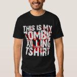 Este é meu t-shirt da matança do zombi