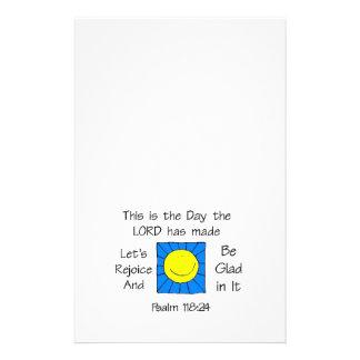 Este é o dia - Sun Panfleto Coloridos