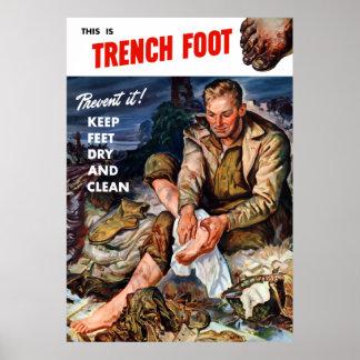 Este é pé de trincheira -- Impeça-o! Poster