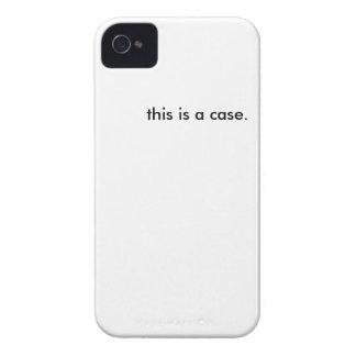 este é um caso capinha iPhone 4