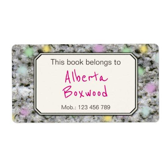 Este livro pertence à textura conhecida feita sob etiqueta de frete