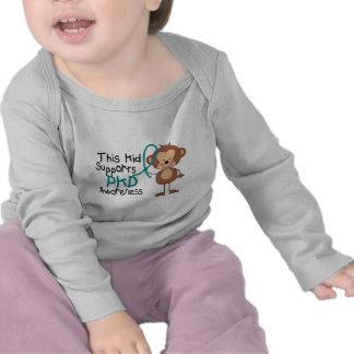 Este miúdo apoia a consciência de PKD T-shirt