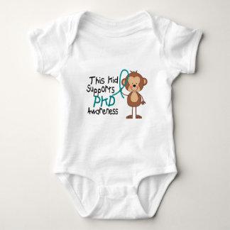 Este miúdo apoia a consciência de PKD T-shirts