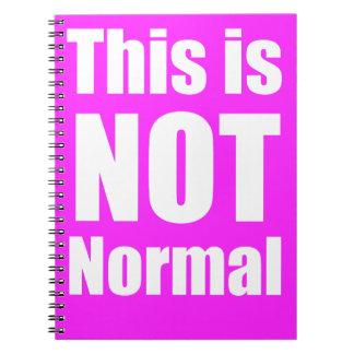 Este não é caderno normal